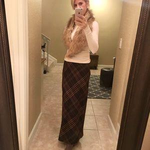 Ralph Lauren Plaid Skirt